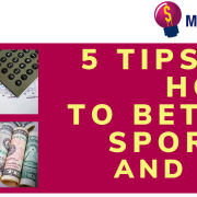 5 tips on how to bet on sports and win