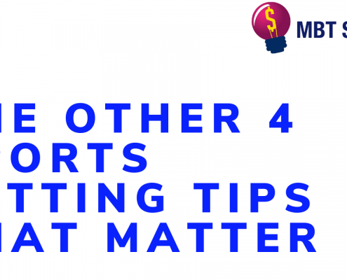 The Other 4 Sports Betting Tips That Matter